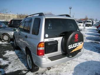 1997 suzuki escudo photos, 1.6, gasoline, manual for sale