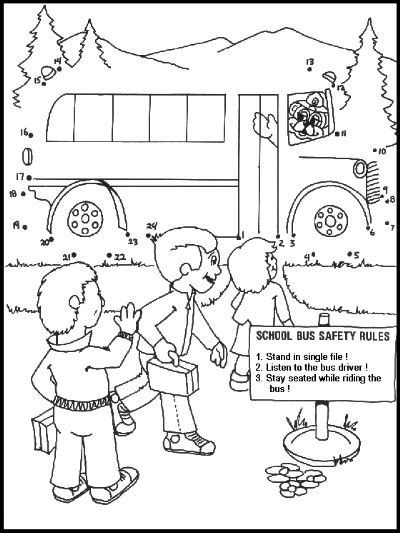 School Safety Worksheets by Car Safety Coloring Pages Safety American School