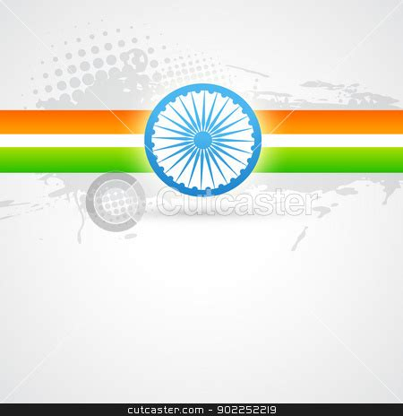 indian flag design stock vector