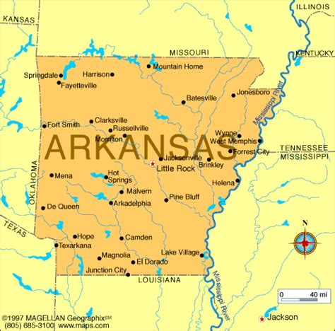 us map where is arkansas map of arkansas