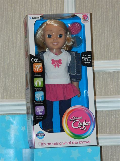 my friend cayla doll meets my friend cayla the must own dolls for