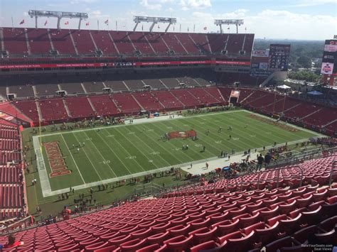 section 13 d raymond james stadium section 306 ta bay buccaneers