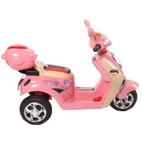 si鑒e enfant scooter scooter 233 lectrique pour enfant cristom 6v look vintage