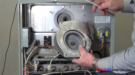 How to replace a combustion air blower motor youtube