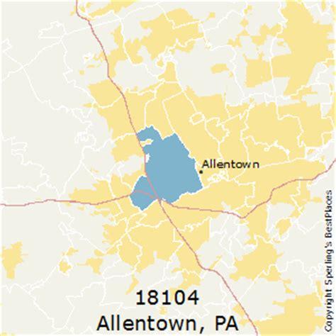 best places to live in allentown (zip 18104), pennsylvania