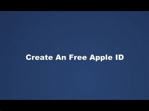 make free apple id without credit card create a free apple id in itunes without a credit card