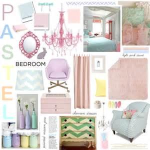 Pastel Bedroom   Polyvore