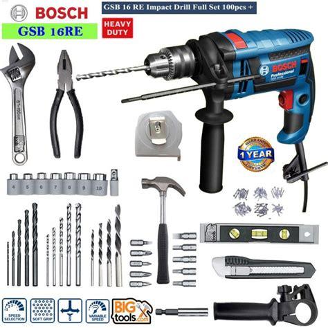 Bosch Gsb 16 Re Impact Drill bosch gsb 16 re impact drill set