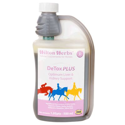 Detox Equine by Detox Plus Supports Optimum Liver Kidney Function