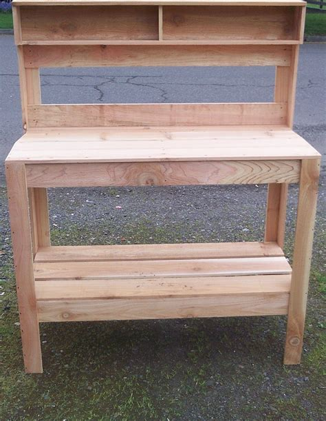 gardening work benches garden work bench northwest backwoods creations
