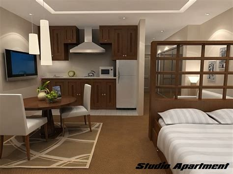one room appartment difference between studio apartment and one bedroom