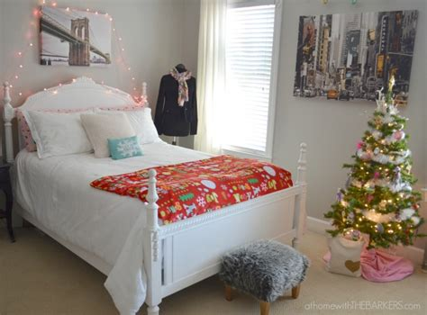 Red Bedroom Decorations by Holiday Decorating For Teen Girls