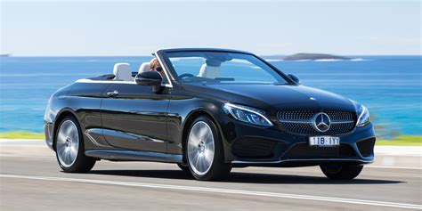 convertible mercedes 2017 2017 mercedes c class cabriolet review caradvice