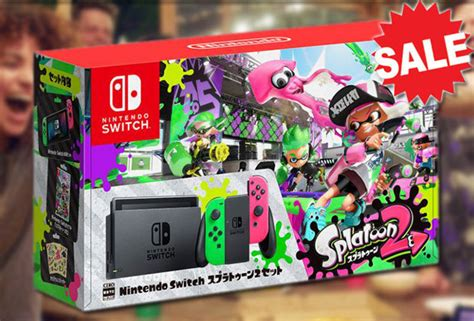 Dijamin Nintendo Switch Accessory Set Splatoon 2 Edition this nintendo switch splatoon 2 special edition bundle box is on sale for less than 163 5 daily