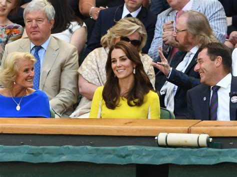 Kates All The News Today by Princess Kate Attends Wimbledon S Semifinals Abc News