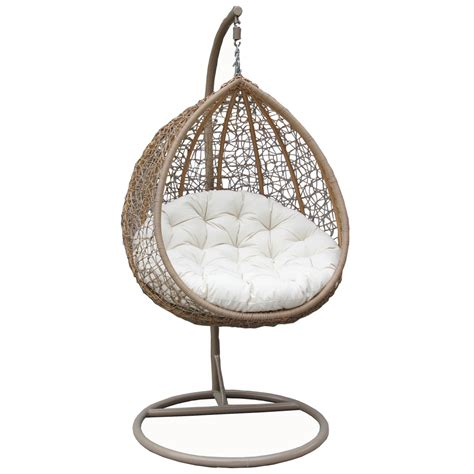 hanging wicker chair bentley garden wicker rattan patio hanging swing chair