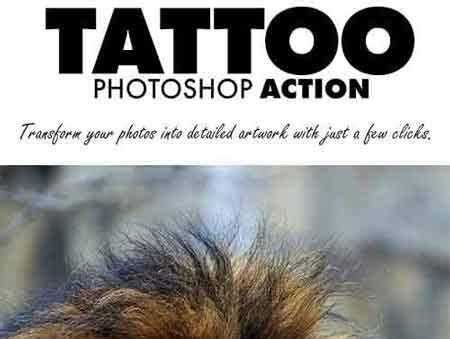 tattoo maker photoshop action 1707086 tattoo photoshop action 20897016 free psd