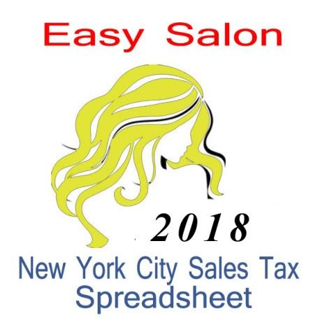 new york taxes guidebook to 2018 guidebook to new york taxes books new york city salon accounts sales tax spreadsheet for