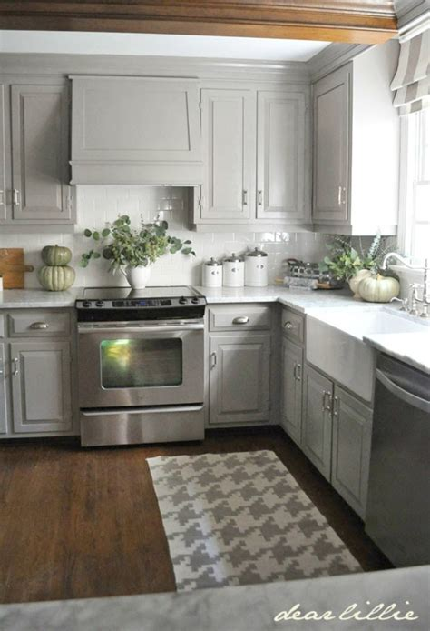 Gray Cabinet Kitchens Kitchen Rug Ideas 2016 Intentional Hospitality