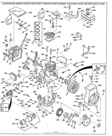 tecumseh governor diagram tecumseh hs40 55497g parts diagram for engine parts list 1
