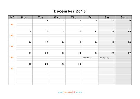 printable december 2015 calendar uk december 2015 calendar free monthly calendar templates