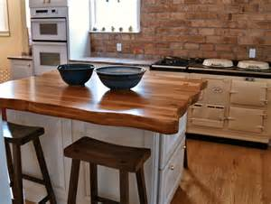 Wood Tops For Kitchen Islands Reclaimed Longleaf Pine Wood Countertop Photo Gallery By