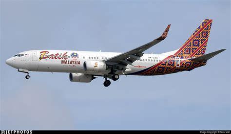 batik air vietnam 9m lnc boeing 737 8gp batik air malaysia sieu viet