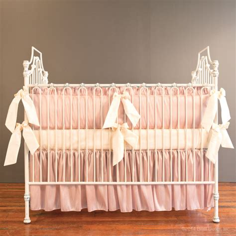 blush crib bedding bella blush crib bedding