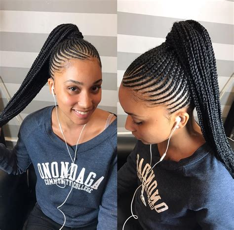 black woman twist hair styles up in pony tails beautiful work by handsnheartss https