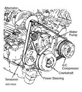 1995 buick park avenue serpentine belt routing and timing belt diagrams