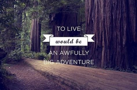 to live would be an awfully big adventure tattoo to live would be an awfully big adventure inspirational