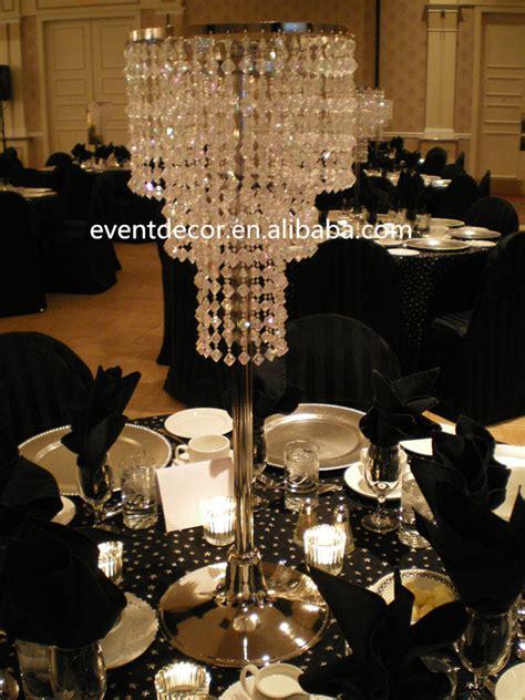 Cheap Chandelier Centerpieces Wholesale Plastic Chandelier For Decoration Table Top Chandelier Centerpieces For Wedding View
