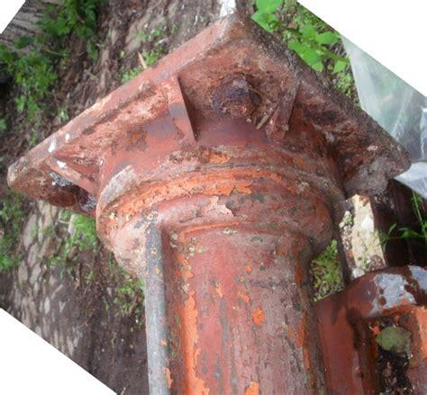 antike leuchten len antike historische s 228 ulen guss gusseisen eisenst 252 tzen