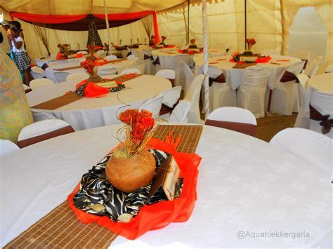 zulu wedding decor pictures   Google Search   African