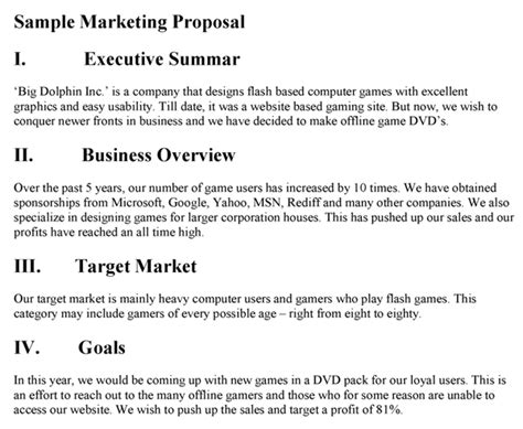 marketing proposal template peerpex