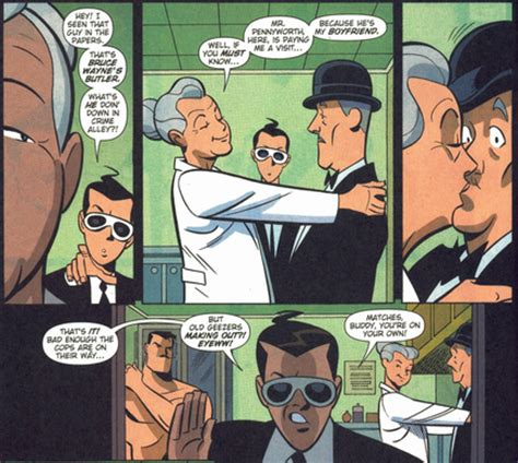 cute couples alfred pennyworth and leslie thompkins