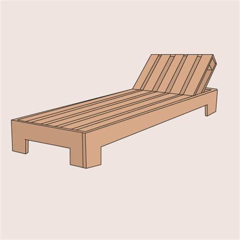 chaise longue palette comment fabriquer une chaise longue en palette ooreka