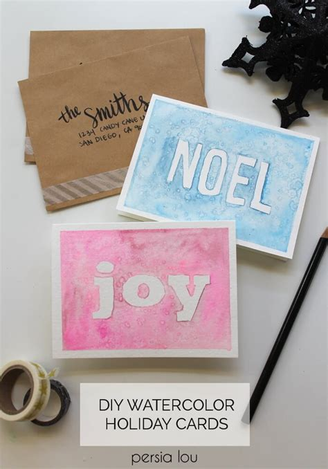youtube watercolor christmas cards tutorials watercolor cards at darice lou