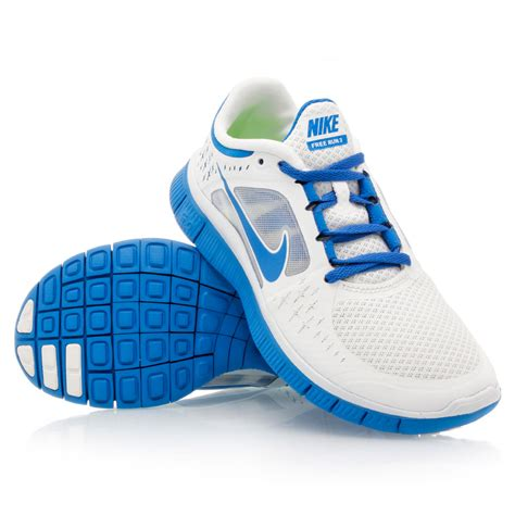 Nike Free 37 37 nike free run 3 womens running shoes white blue slashsport