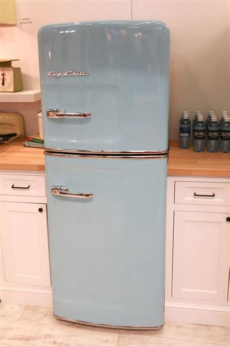 vintage looking kitchen appliances new slim size retro fridge big vintage style for smaller