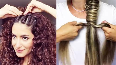 easy hairstyles step by step youtube best diy hairstyles tutorial 2017 easy hairstyles step