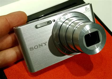 Sony Dsc W830 Silver Kamera Pocket sony cyber dsc w830 w810 on preview