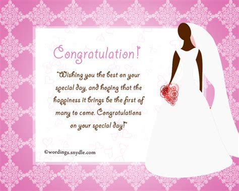 Bridal Shower Greetings by Bridal Shower Messages Wordings And Messages