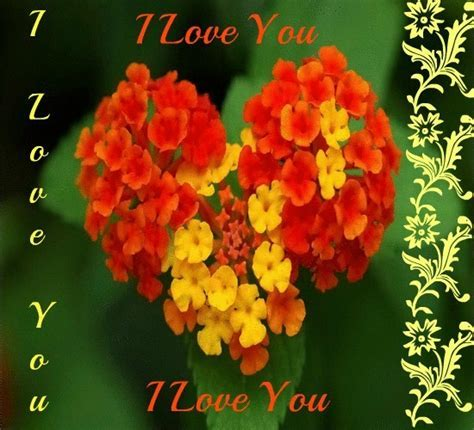 A Bunch Of Flowers From My Heart! Free I Love You eCards
