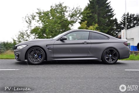 Bmw Frozen Grey by Showstopper Frozen Grey Bmw M4 Spotted Autoevolution