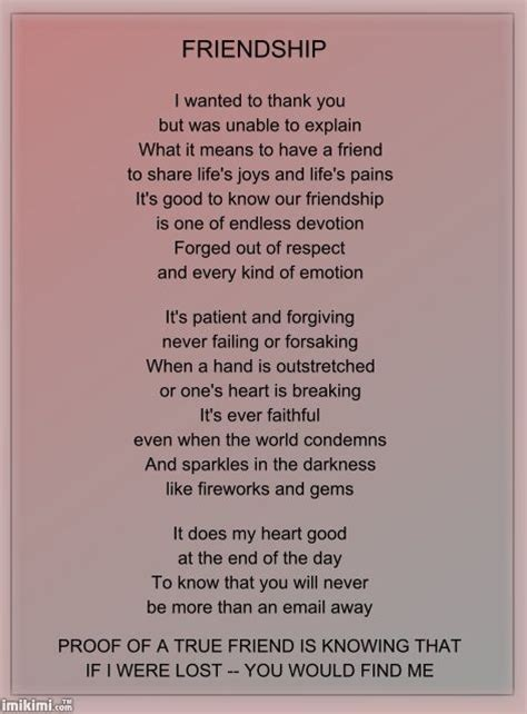 Big Is You Or At Least The It Is by 25 Best Ideas About Friendship Poems On Your