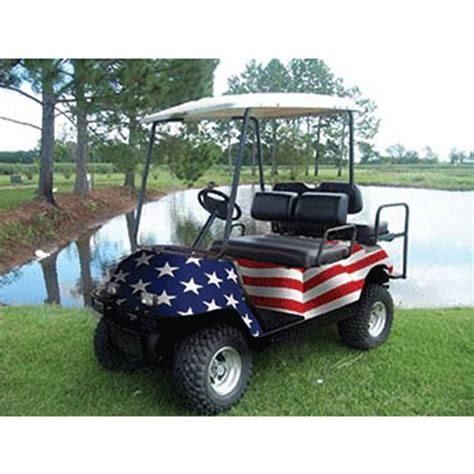 golf cart wrap template american flag golf cart wrap universal fit