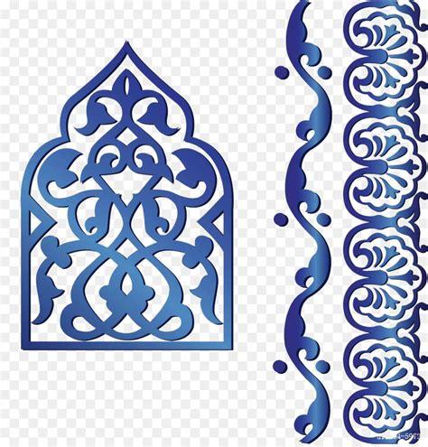 Decoration Islam by Islamic Geometric Patterns Clip Blue Islamic