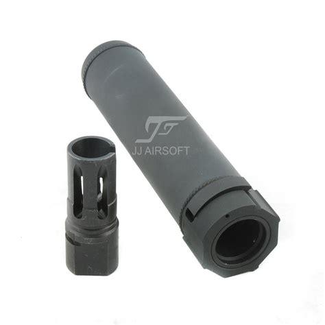 ja 2310 aci sf airsoft suppressor fa556 mg 6 72 inch