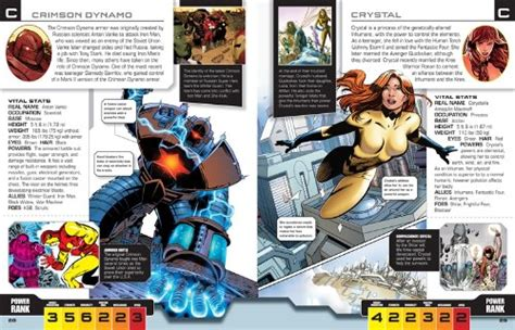 Marvel The Ultimate Character Guide Updated Expanded libro marvel the ultimate character guide di dk